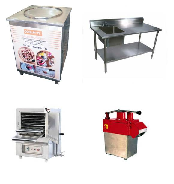 Pan Ice Cream Machine Manufacturers In Ashok Nagar