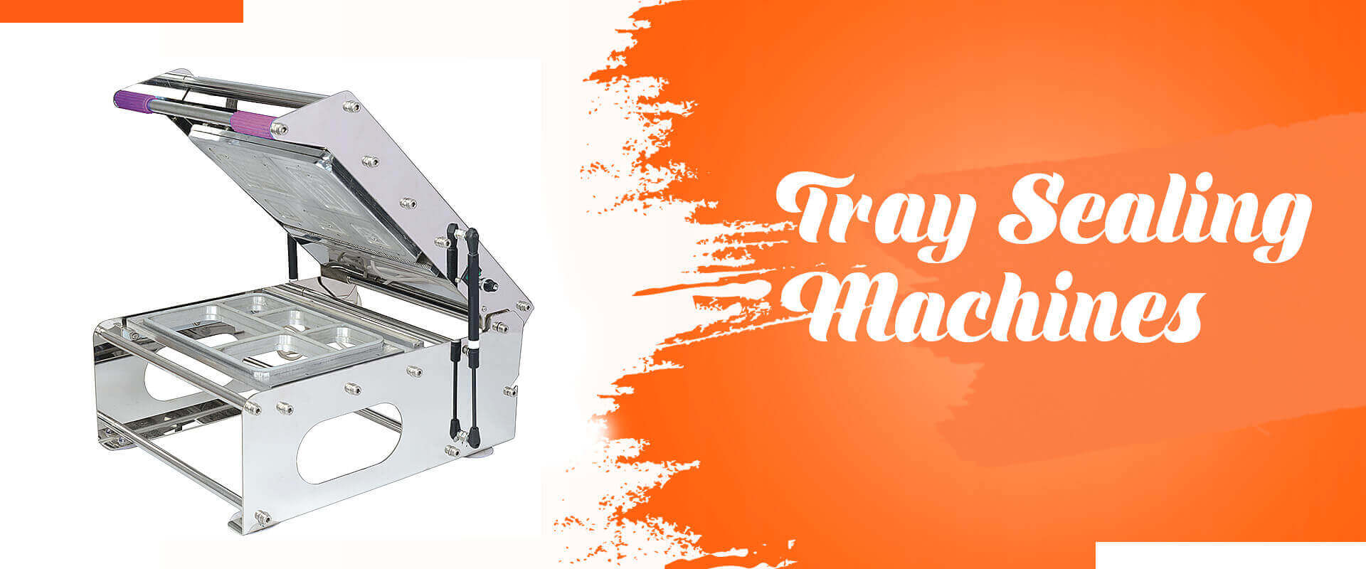 Tray Sealing Machines In Raebareli